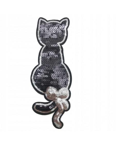 aplikacja-termo-czarny-kot-z-cekinami