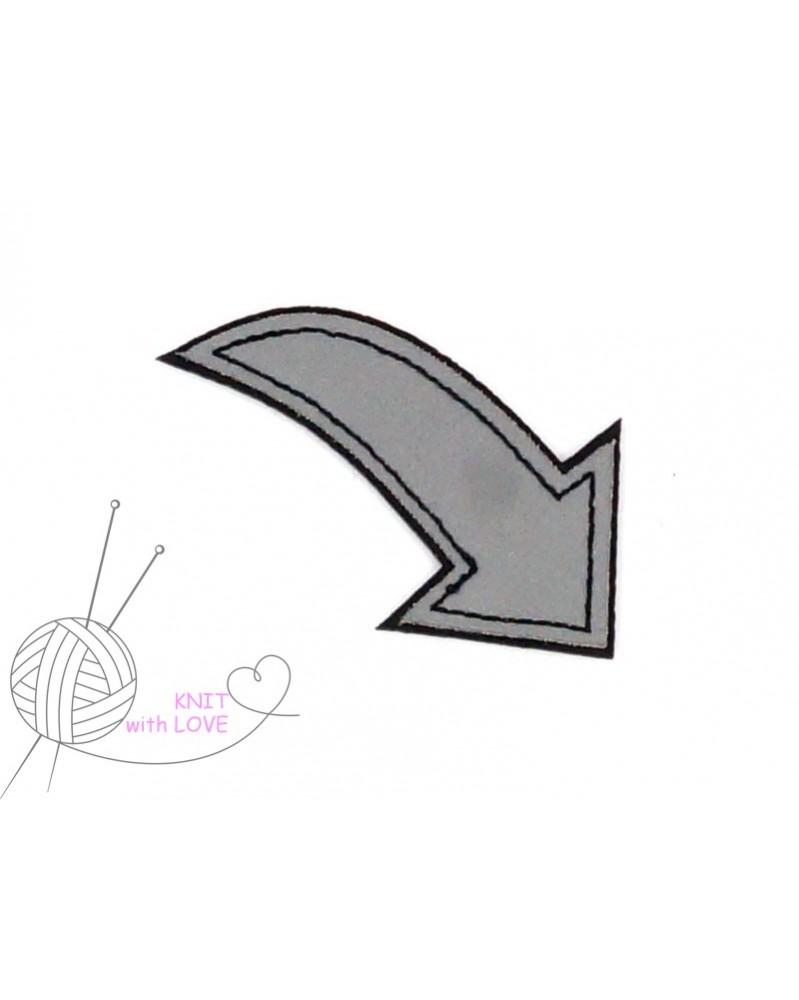 aplikacja-termo-odblaskowa-strzalka-szara