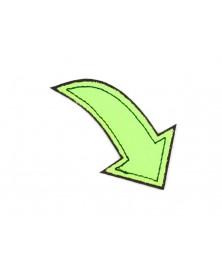 -aplikacja-termo-odblaskowa-strzalka-zielona-neon