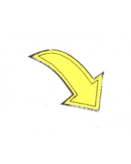 aplikacja-termo-odblaskowa-strzalka-zolta-neon