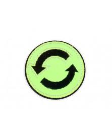 -aplikacja-termo-odblaskowa-znaczek-zielony-neon