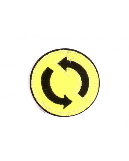 aplikacja-termo-odblaskowa-znaczek-zolty-neon