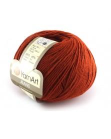 Włoczka Jeans Yarn Art kolor rdzawy 43