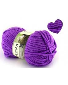 Włóczka Merino Bulky kolor 9561 fiolet