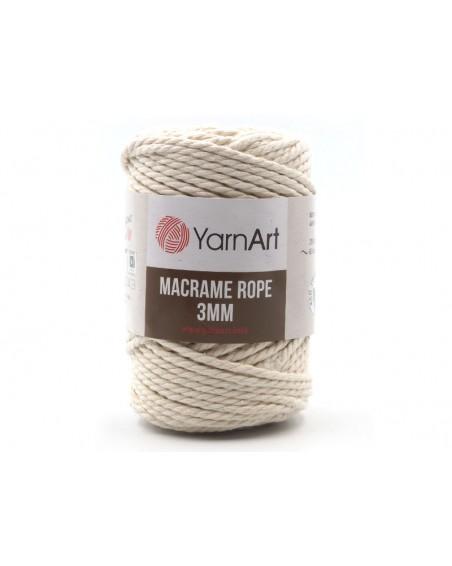 Macrame Rope 3 mm kolor ecru 752