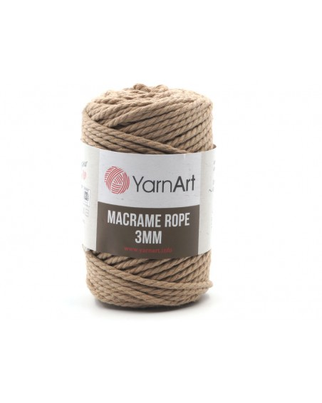 Macrame Rope 3 mm kolor beż 768