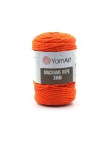 Macrame Rope 3 mm kolor neonowy 800