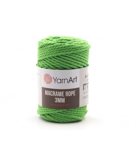 Macrame Rope 3 mm kolor neonowy 802