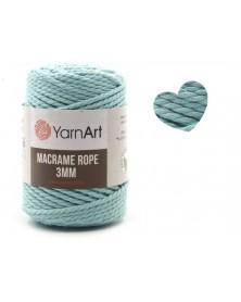 Macrame Rope 3 mm kolor mięta 775