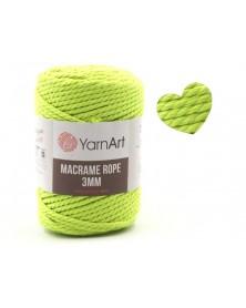 Macrame Rope 3 mm kolor neonowy 801