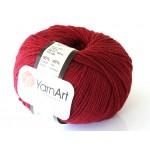 Włoczka Jeans Yarn Art kolor buraczkowy 66