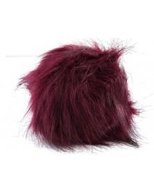 pompon-futrzany-z-dlugim-wlosem-kolor-burgund