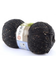 Włóczka Tweed czarny 228