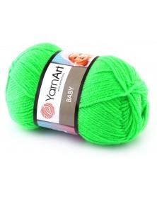 wloczka-baby-yarnart-8233-neonowy-zielony-