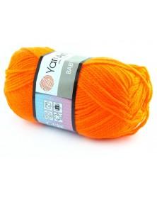 wloczka-baby-yarnart-8233-neonowy-pomarancz-