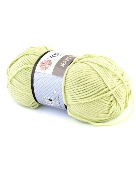 Włóczka Jeans Plus kolor zielony 11