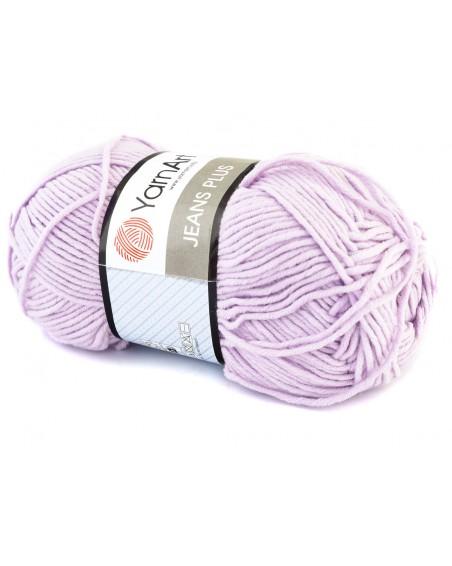 Włóczka Jeans Plus kolor fioletowy 19