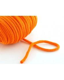 Sznurek bawełniany 5 mm ciemny pomarańczowy