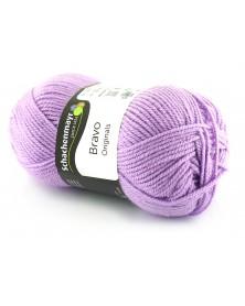 Włóczka Bravo kolor fioletowy 8190