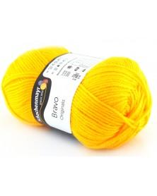 Włóczka Bravo kolor żółty 8210