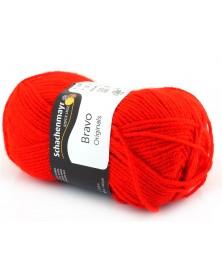 Włóczka Bravo kolor czerwony 8241