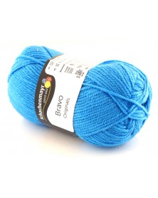 Włóczka Bravo kolor niebieski 8259
