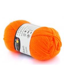 Włóczka Bravo kolor neonowy pomarańcz 8279