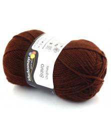 Włóczka Bravo kolor brąz 8281