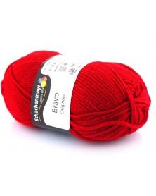 Włóczka Bravo kolor czerwony 8309
