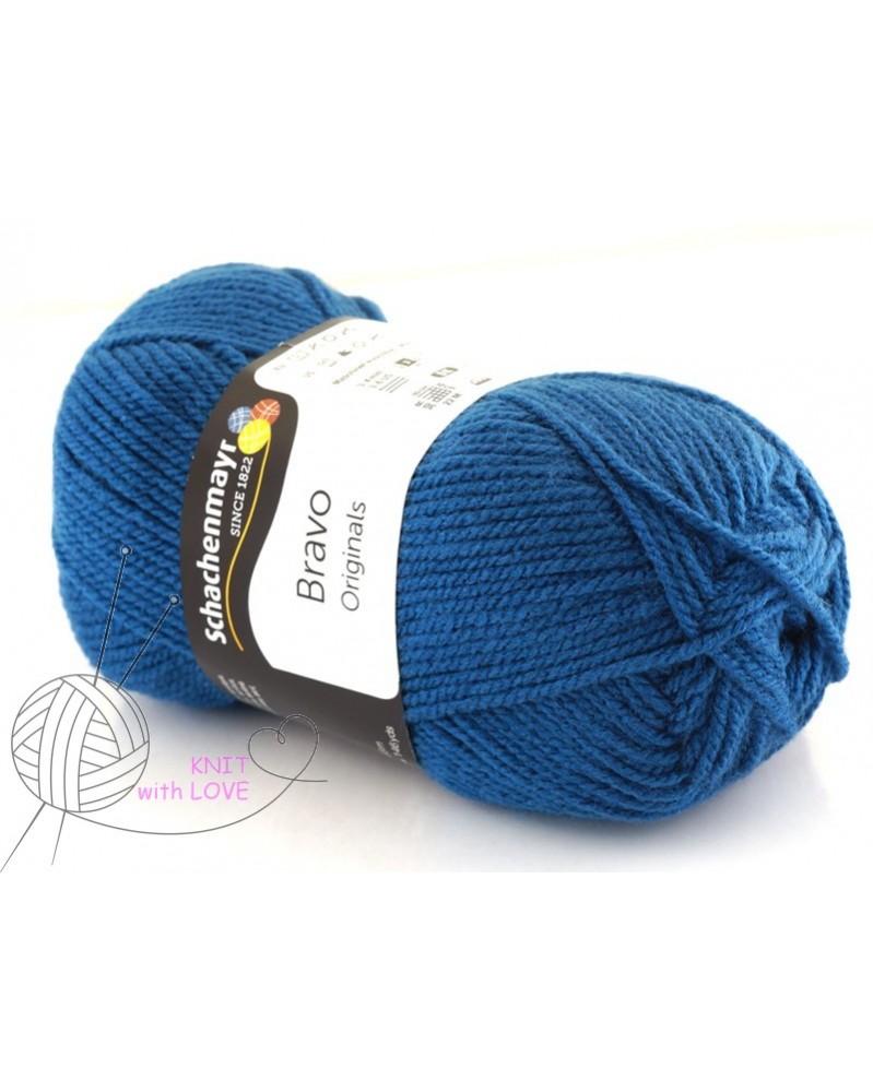 6fc9b190e701e Włóczka Bravo kolor ciemny niebieski 8340 - Twoja Pasmanteria Świat ...