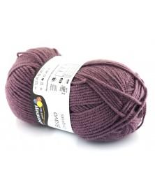 Włóczka Bravo kolor zgaszony fiolet 8357
