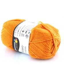 Włóczka Bravo kolor jasny pomarańcz 8360