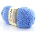 Cotton Soft Yarn Art kolor niebieski 15