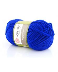 Włóczka Norway kolor 64 szafirowy