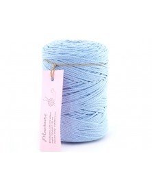 Sznurek Macrame kolor jasny niebieski 790