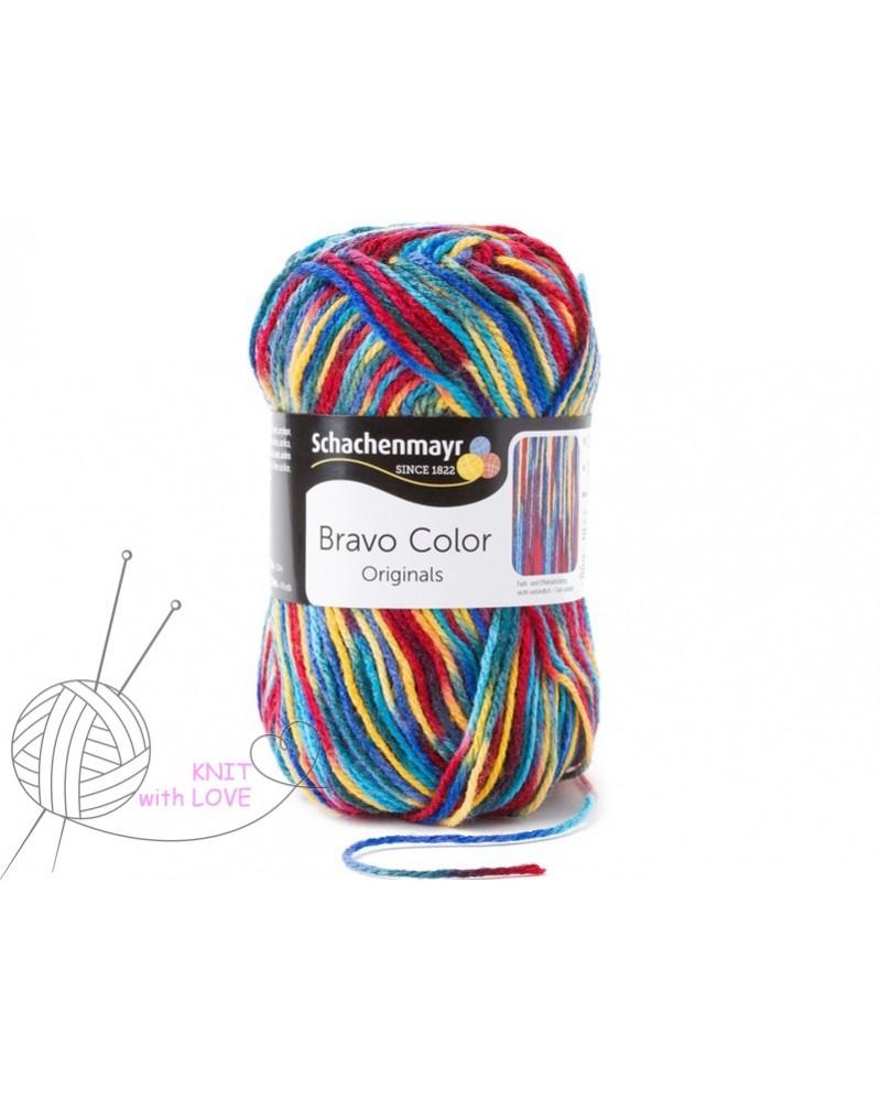 Włóczka Bravo Color 080 Schachenmayr