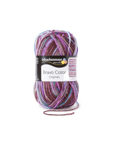 Włóczka Bravo Color 2086 Schachenmayr
