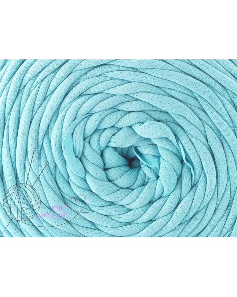 Włóczka  Spaghetti Yarn kolor turkus