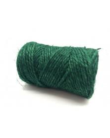 Sznurek jutowy zielony