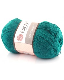 Cotton Soft Yarn Art kolor morski ciemny 63