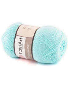 Cotton Soft Yarn Art kolor 76 jasny turkus