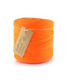 Włóczka Spaghetti Yarn kolor neonowy pomarańcz