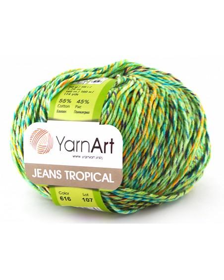 Włóczka Jeans Tropical kolor 616