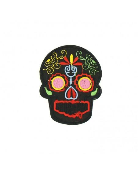 aplikacja-termo-naszywka-lata-czaszka-meksykanska